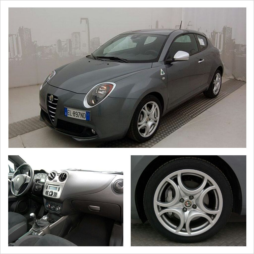 alfa mito multiait 1 4 tb 170 cv quadrifoglio verde color grigio grafite a. Black Bedroom Furniture Sets. Home Design Ideas