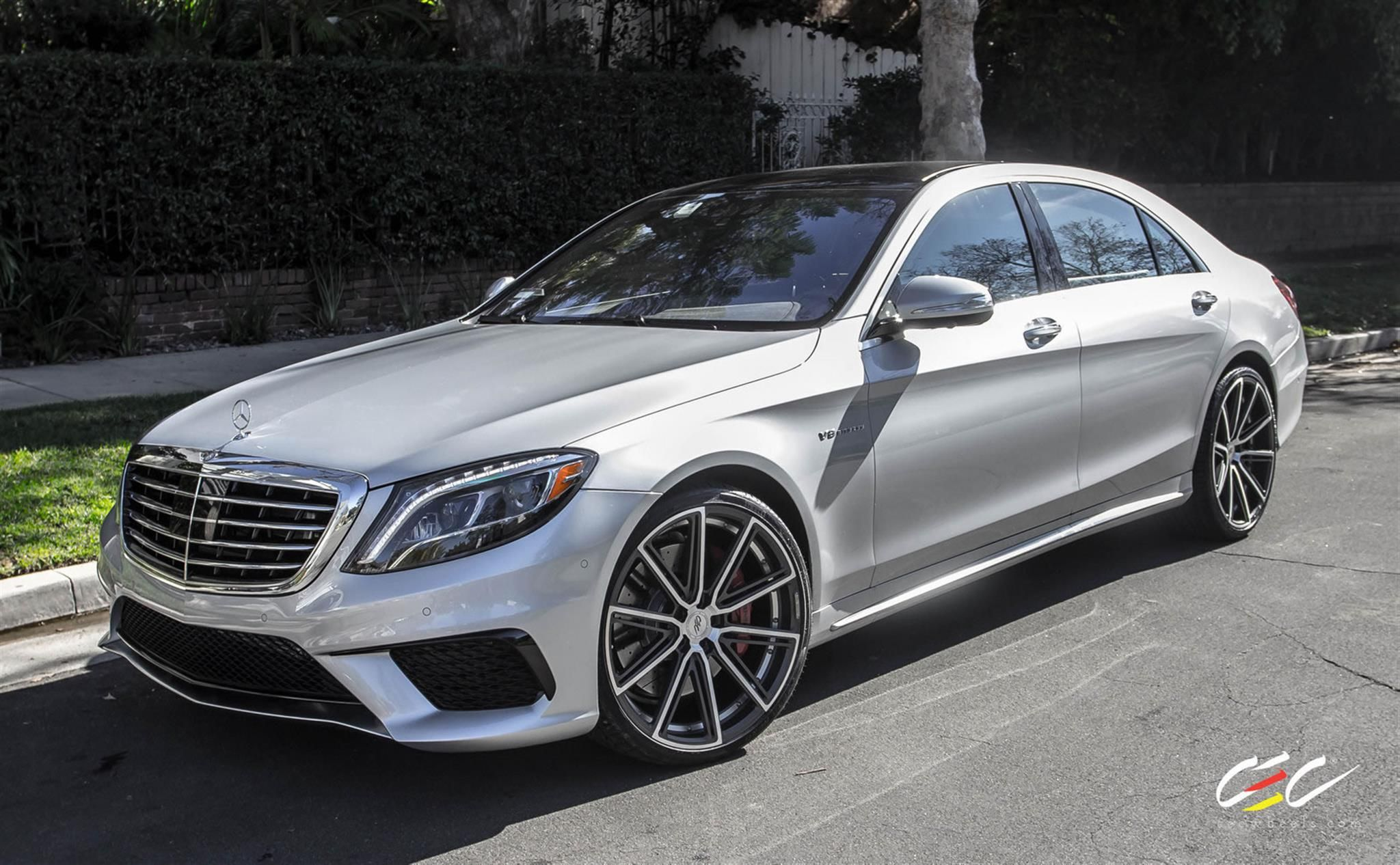 Color car los angeles - Mercedes Benz S63 Amg With 22 Cec C25 Wheels By Cec In Los Angeles