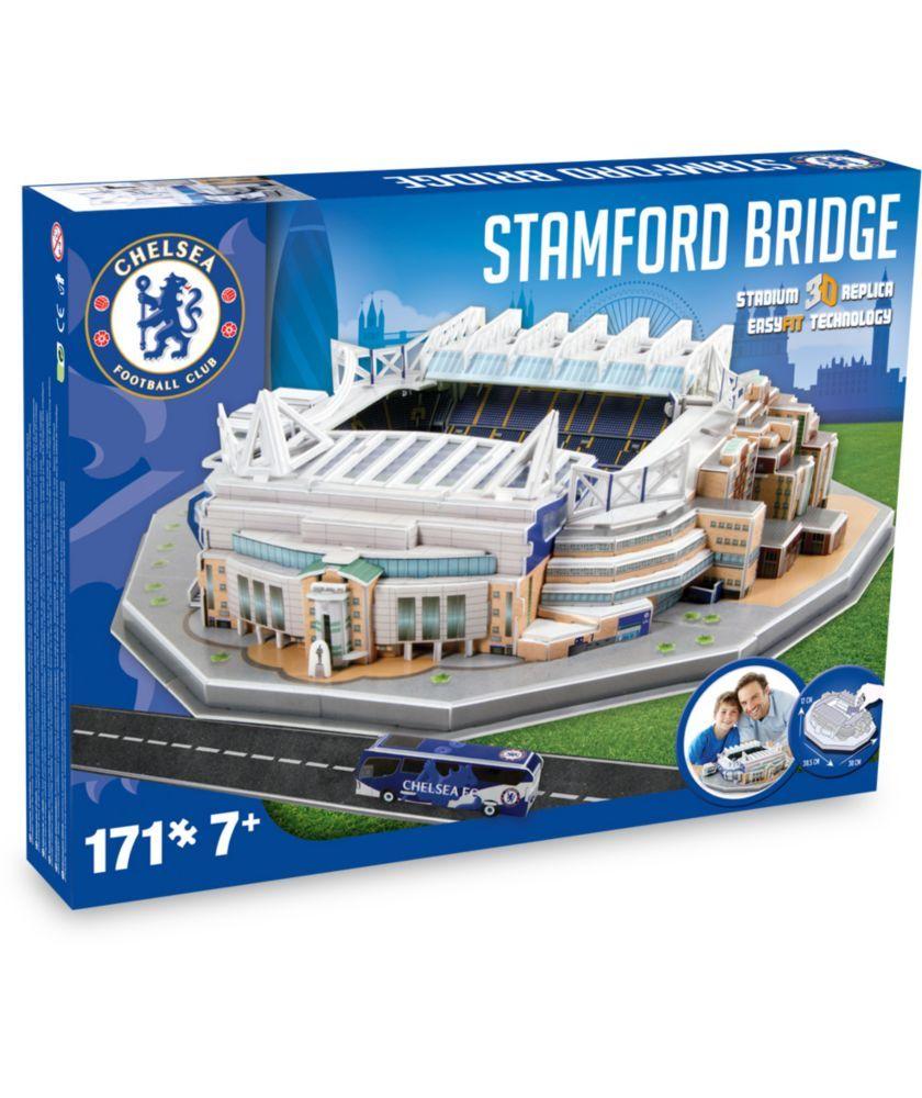 Buy 3D Stadium Puzzle Chelsea At Argoscouk 18 Max Bday