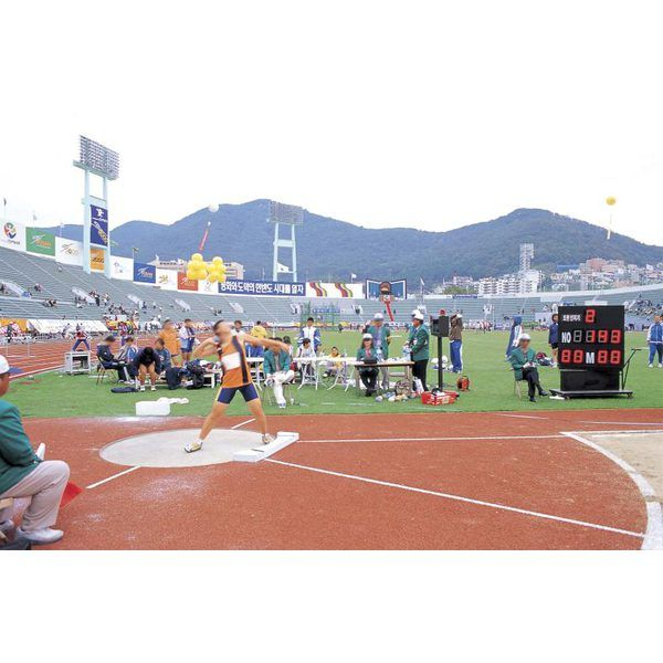 How To Construct A Shot Put Area
