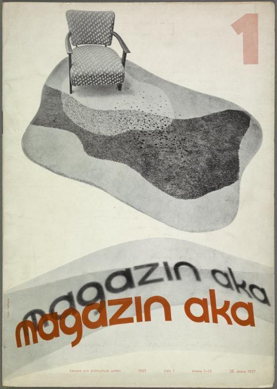 Magazin Aka. 1937, cis. 1 [Front cover] (1937)