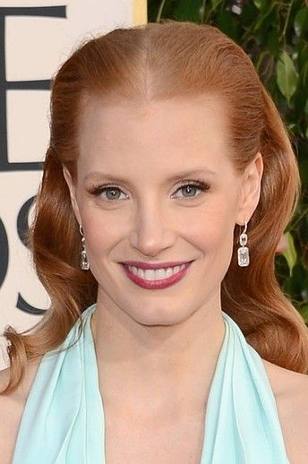 Sorry, her golden globes redhead