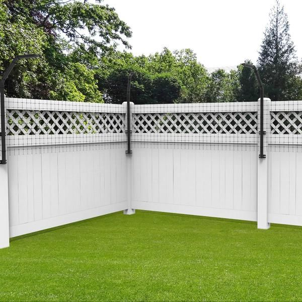 houdini proof dog proofer fence extension arm fence on modern fence ideas highlighting your house with most shared privacy fence designs id=57742