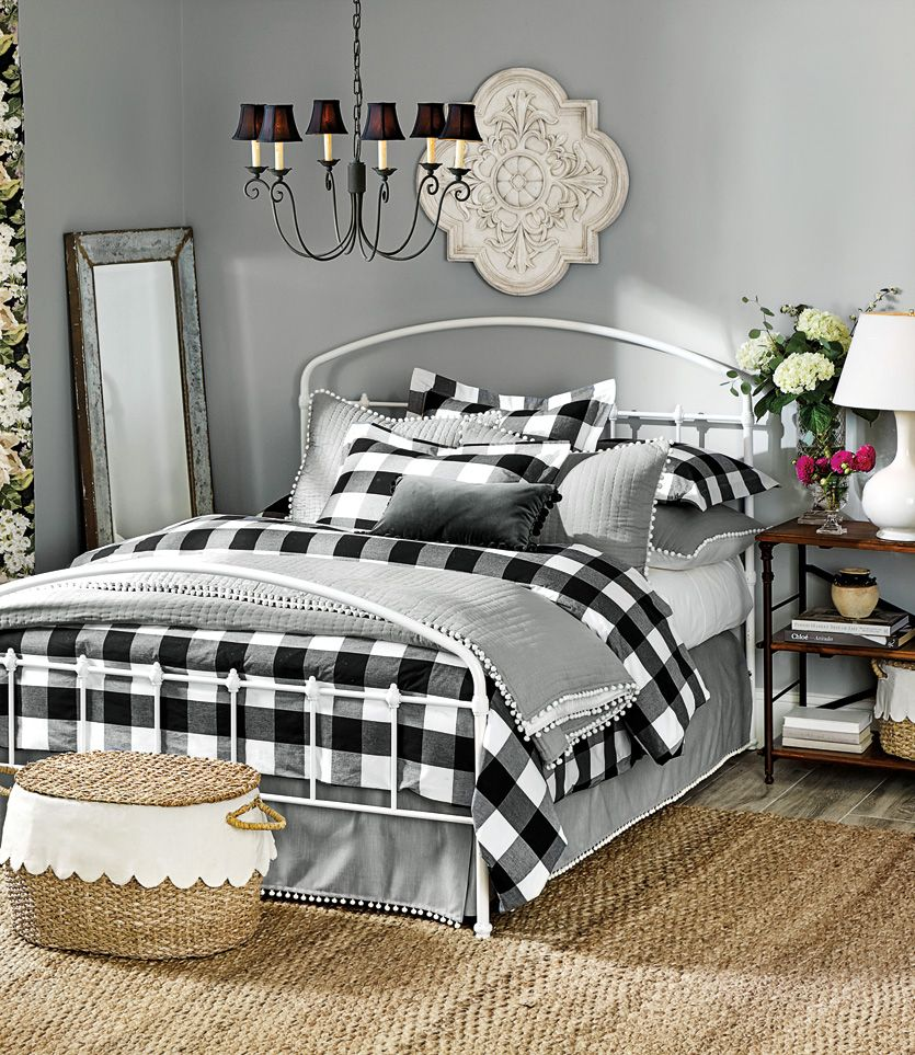 Buffalo Check Bedroom Remodel Bedroom Home Bedroom Design