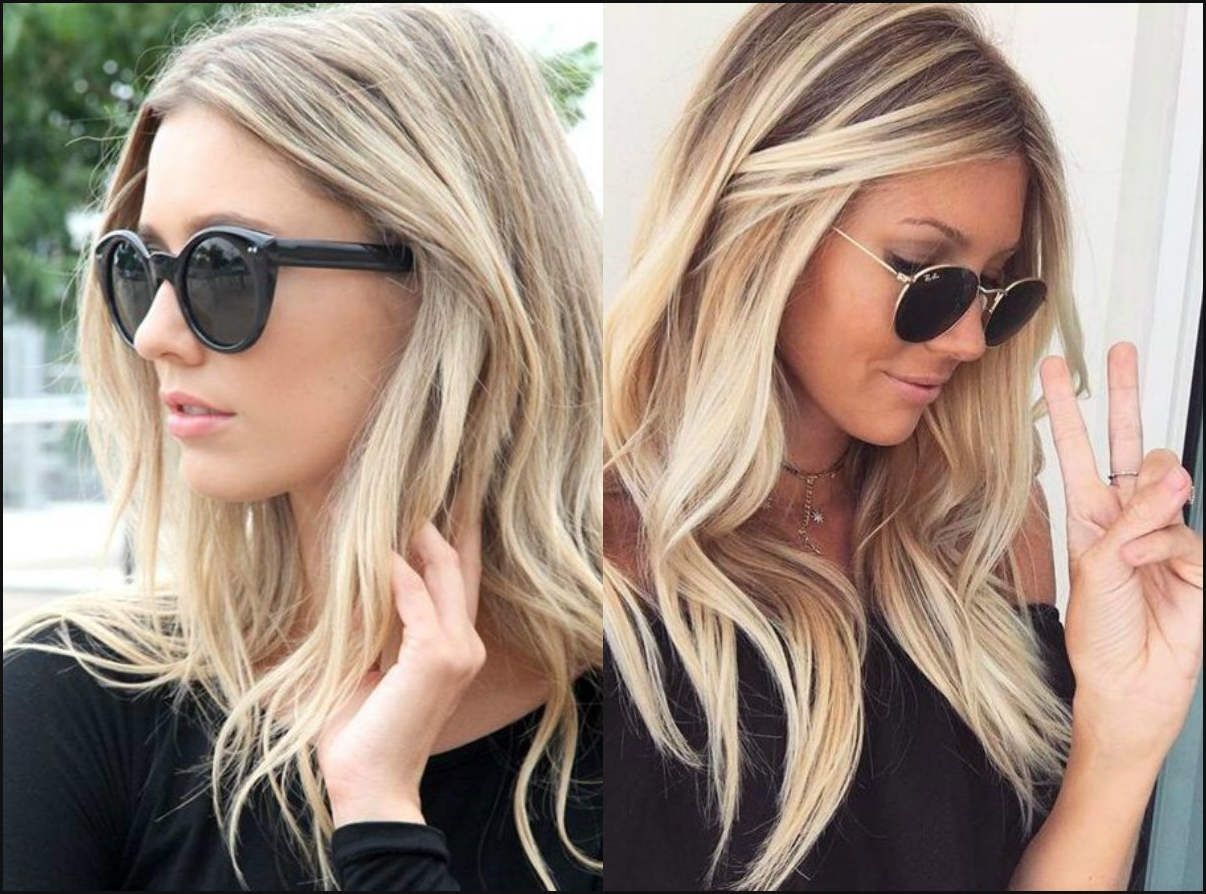 Das Perfekte Medium Blonde Frisuren 2017 Neue Frisur Stil