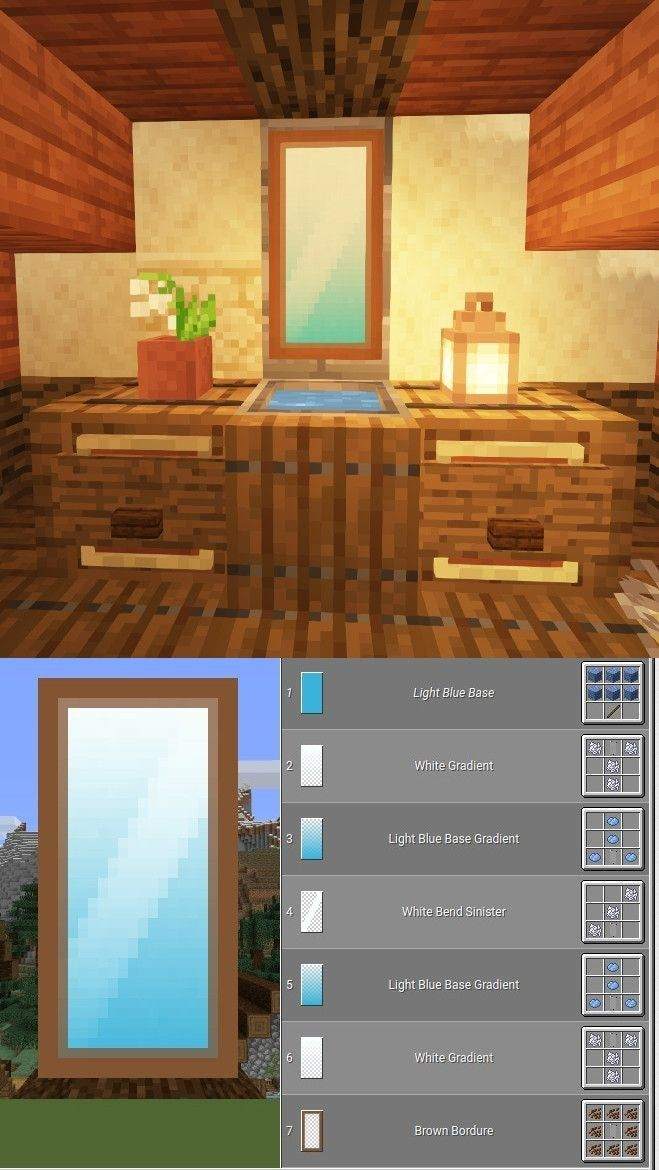 Reddit Minecraft How to make a mirror in minecraft