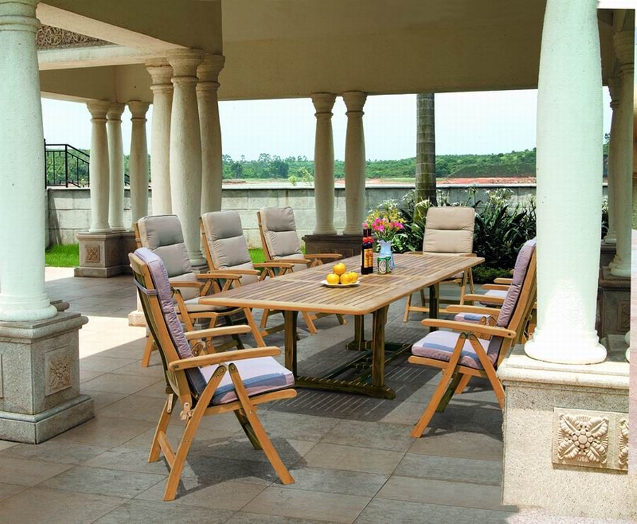 Outdoor Patio Teak Furniture Teak Set At