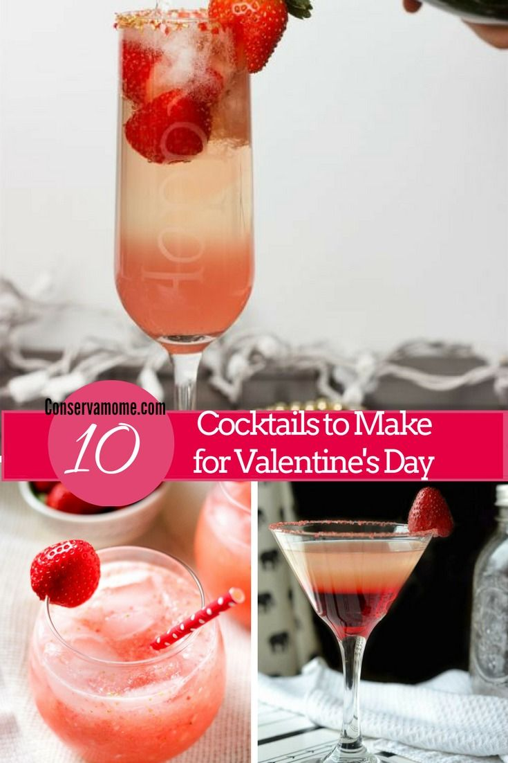 10 Cocktails To Make On Valentine S Day Cocktail Making Fun