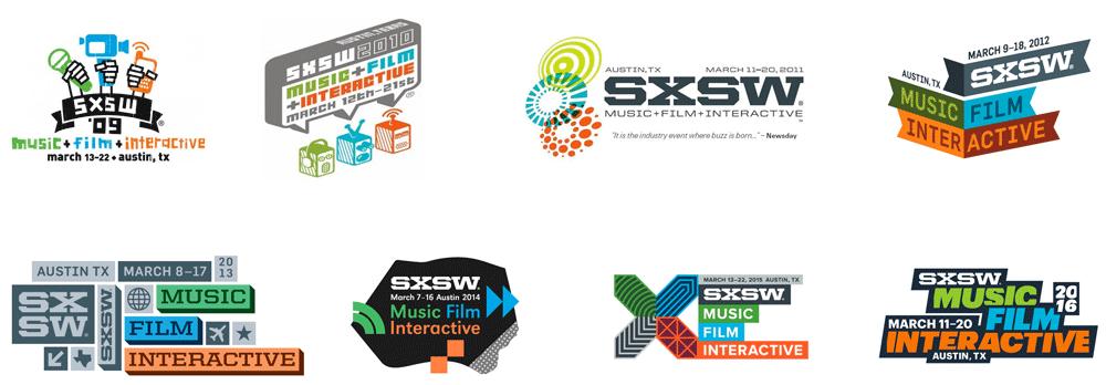 New Logo And Identity For Sxsw By Foxtrot Identity Logo Branding Design Sxsw