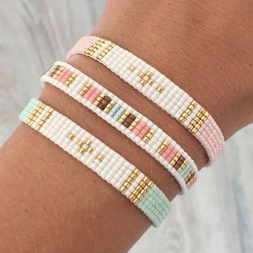 Favori Bracelet Manchette tendance 2017 Miyuki | Bracelets, Beads and  JT48