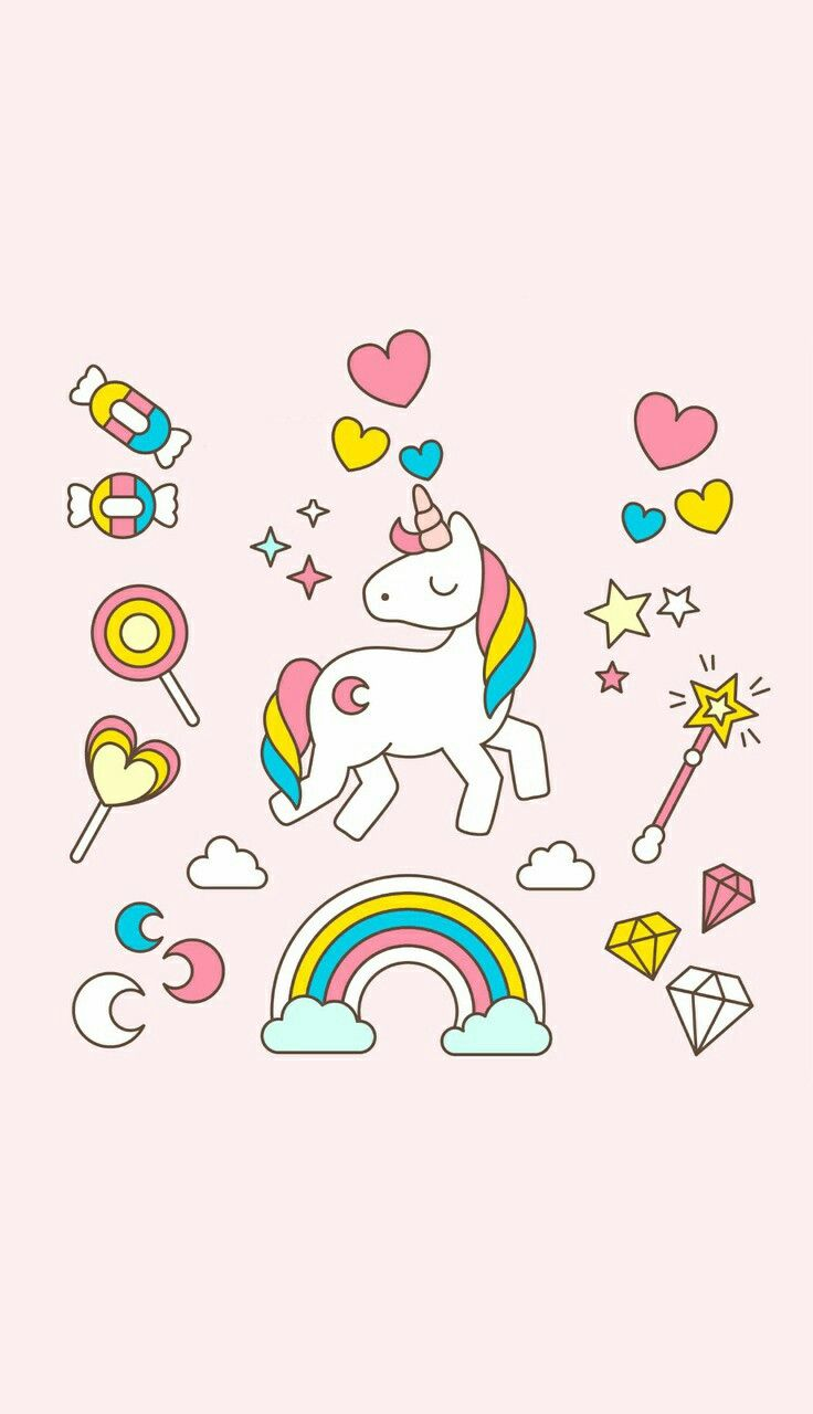 Wallpaper iphone tumblr unicorn - Explore Rainbow Wallpaper Save Screen And More