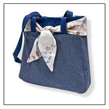 Working Girl Totes, I wish I could sew that good to make this.