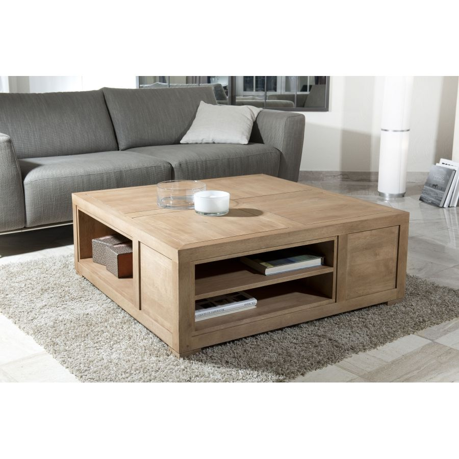 Beau Table Basse Carree Avec Rangement Center Table Living Room Centre Table Living Room Coffee Table