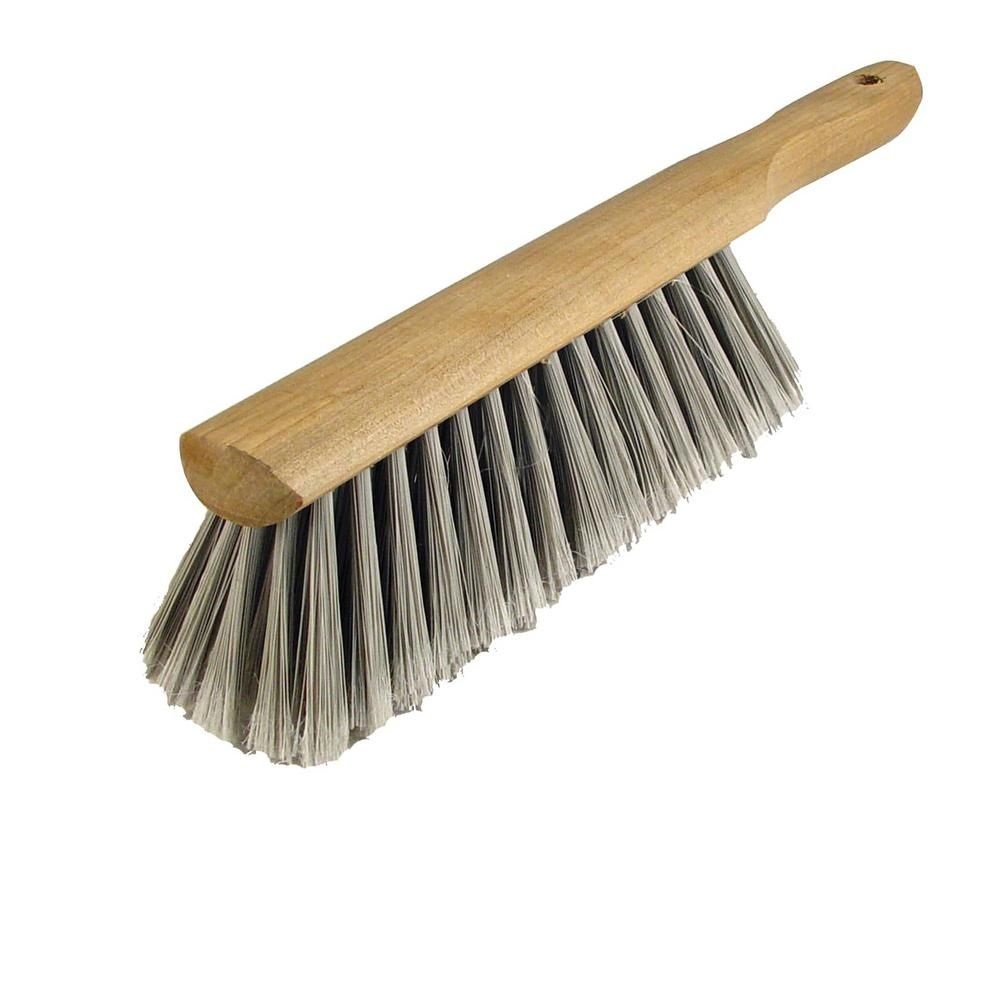Bon Tool Counter Brush With Soft Silver Tipped Flagged Bristles 84 155 Grout Cleaner Concrete Tools Push Broom