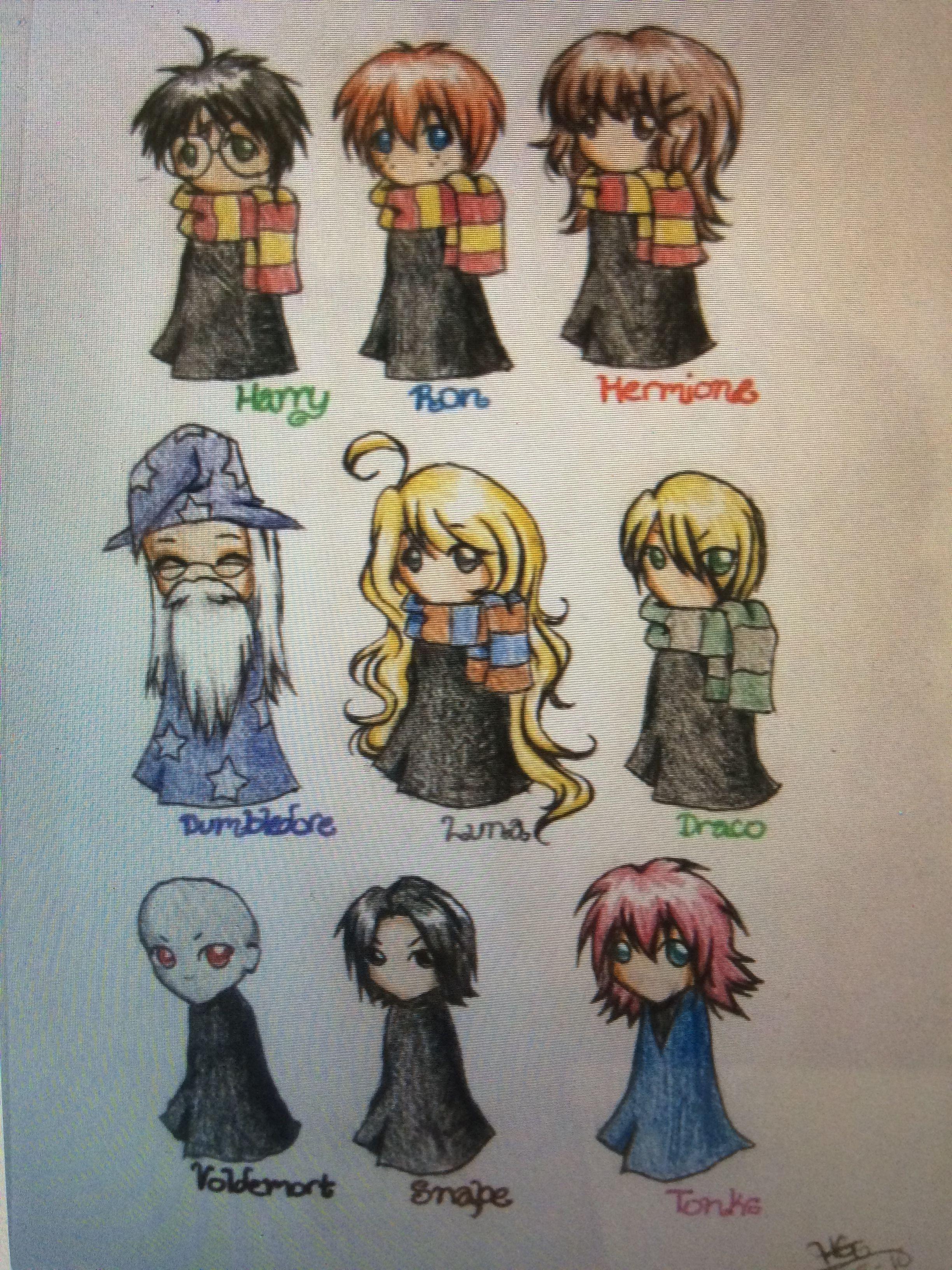 Pin Di Mansi Kumaria Su Harry Potter Harry Potter Anime Disegno Del Personaggio Disegni Di Harry Potter