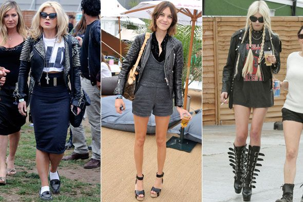 festival outfit regen