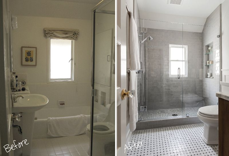 bathroom remodel before and after as bathroom remodeling on remodelling table of stunning cost of remodeling