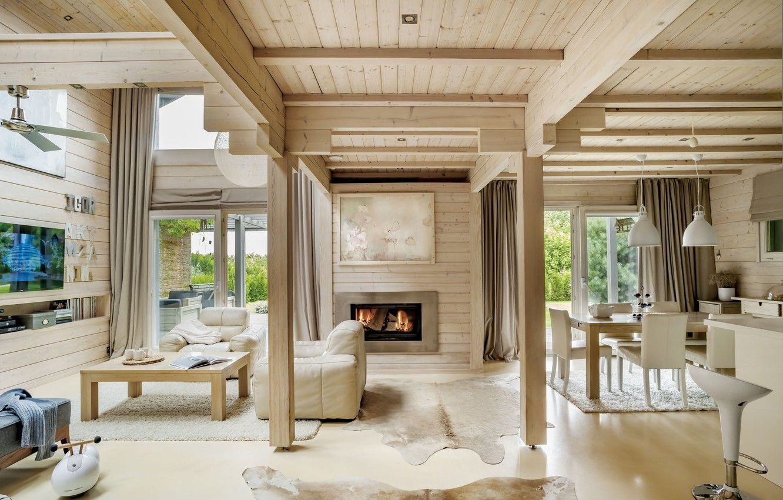 Фото обои интерьер, камин, гостиная, столовая (Görüntüler ile)