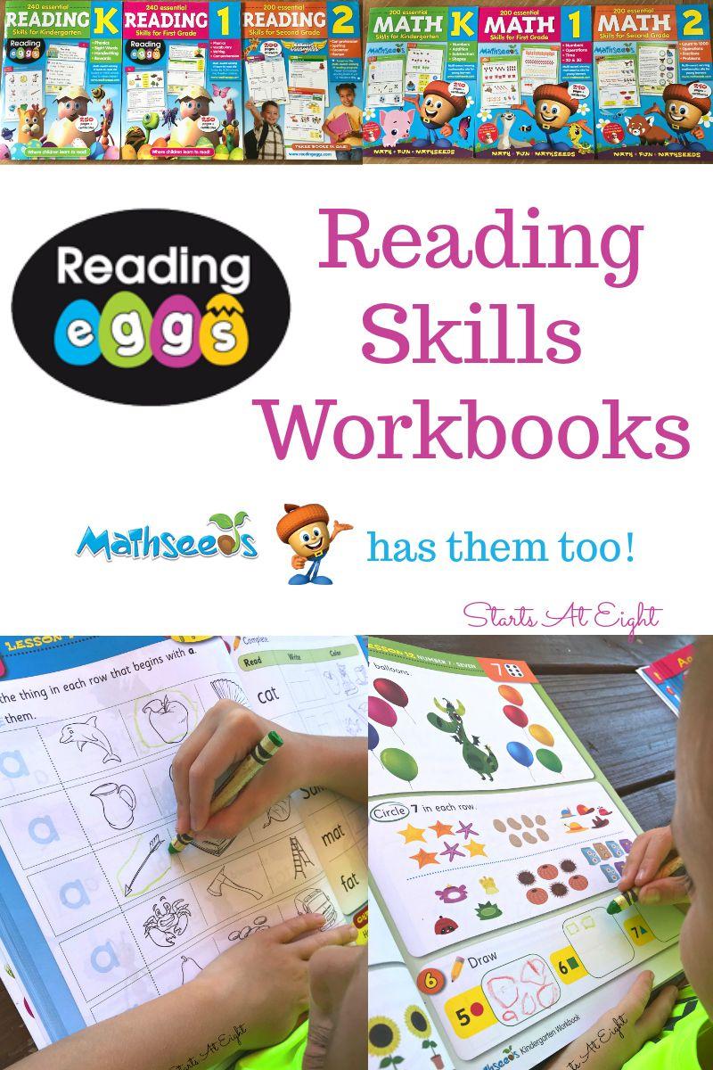Reading Eggs Reading Skills Workbooks Mathseeds Has Them Too Reading Skills Preschool Learning Activities Christian Homeschool Curriculum Is reading eggs free for teachers