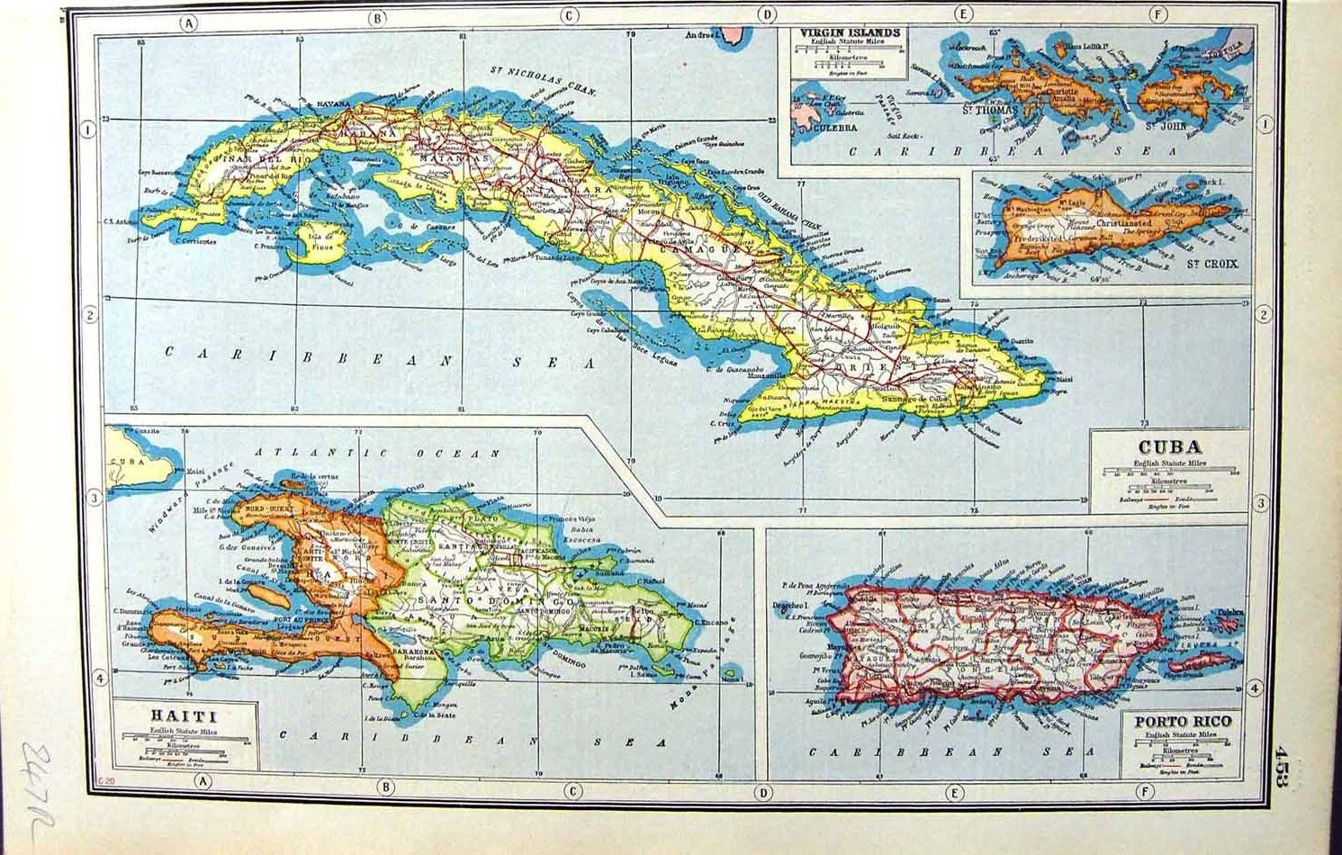 Pin by vintage virgin islands sharing virgin islands history on antique maps vintage maps west indies virgin islands the virgin islands old maps us virgin islands vintage cards sciox Image collections
