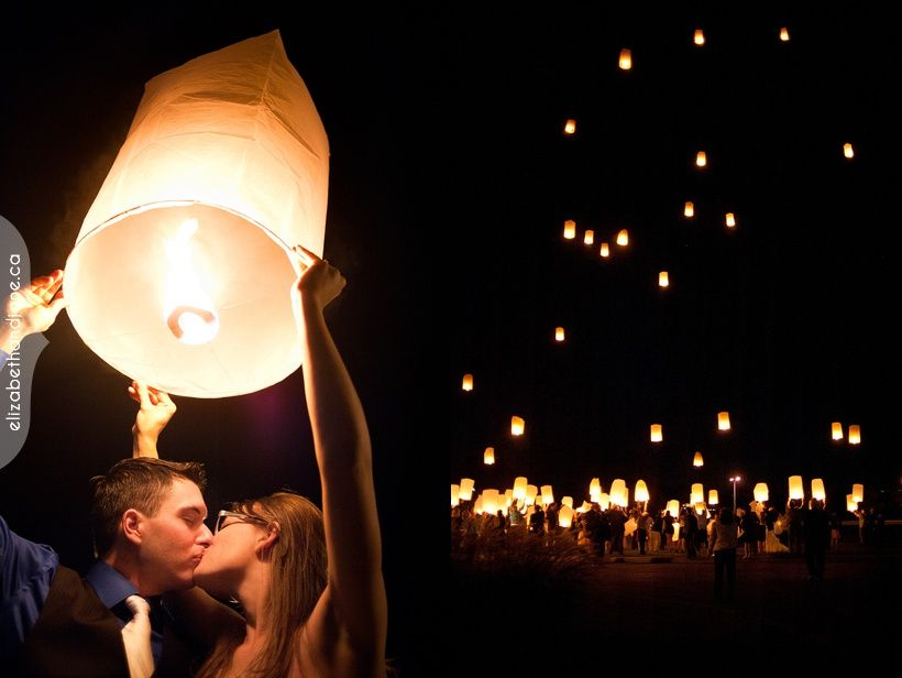 Small Or Tall Sky Lanterns Ottawa Wedding Photographer Elizabethandjane Vikki Dan Sneakk 03