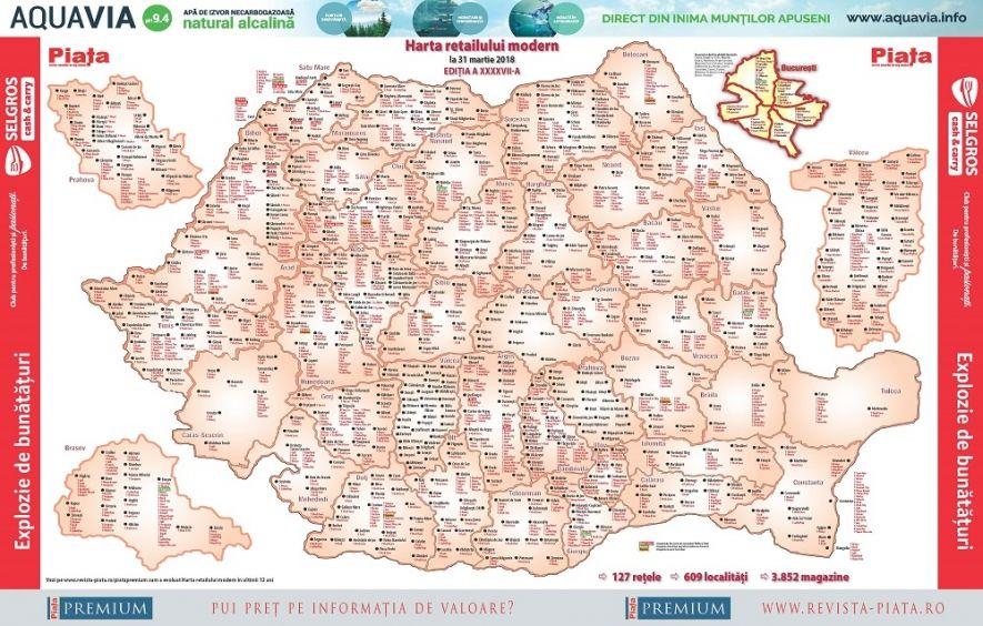 Peste 600 De Localităţi Pe Harta Retailului Modern Din Romania