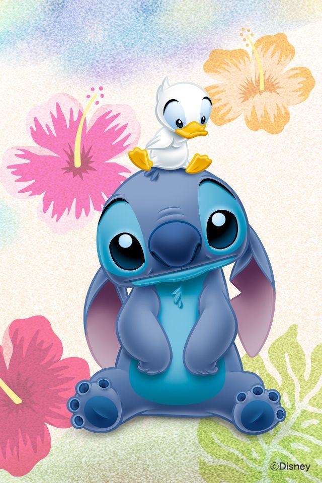 Disney Wallpaper Stitch And Girlfriend 640x960 Fondo De Stich Dibujo De Stich Fondos De Pantalla Stitch