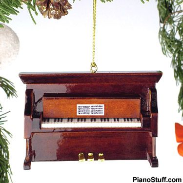 Upright Piano Christmas Ornament - Unique Christmas Gift Ideas for Piano  Players #gifts #piano - Upright Piano Christmas Ornament - Unique Christmas Gift Ideas For