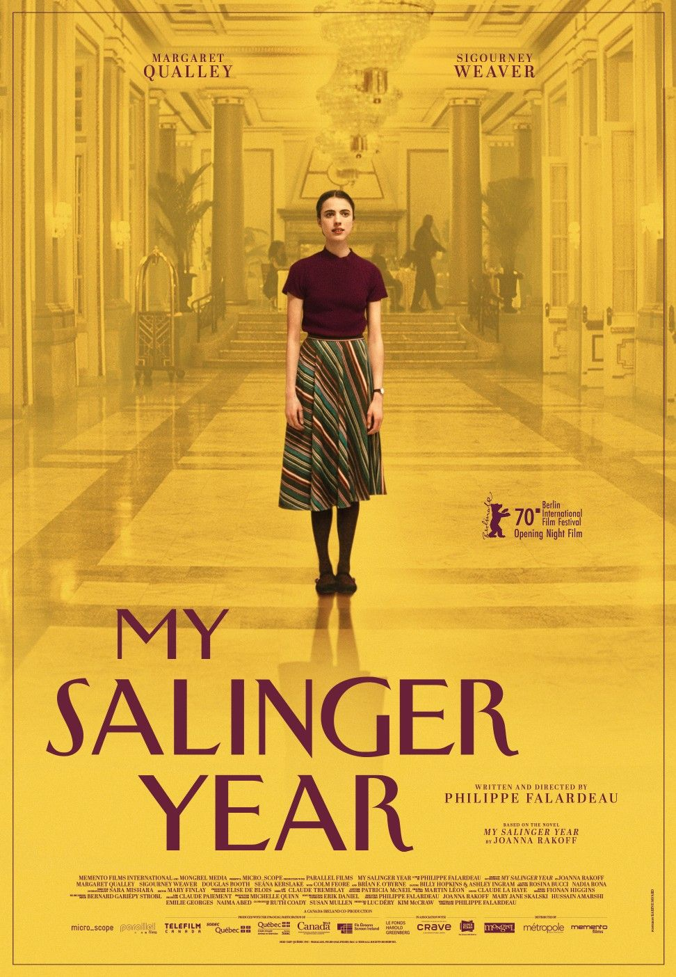 My Salinger Year Night Film Movie Posters Movie Trailers