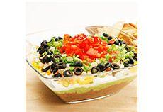 Cuisine Coup De Pouce Food Mexican Layer Dip Mexican Dip Recipes