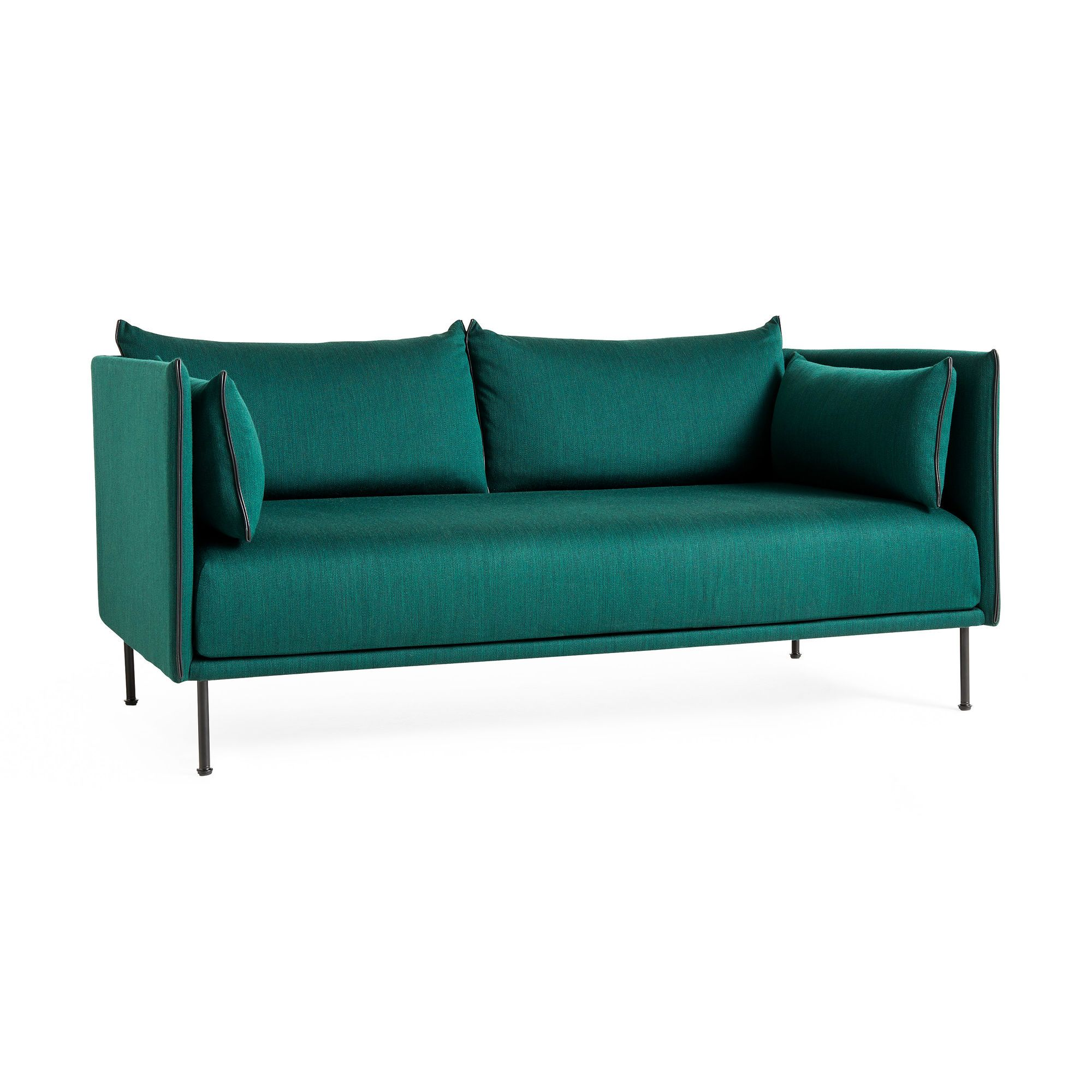 Hay Silhouette Two Seater Sofa In Color Sofa Seater Sofa Furniture