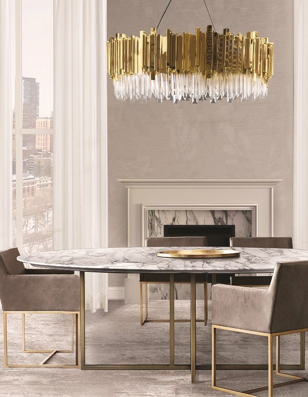 most wanted trends for a dining room 2017 | luxury dining room