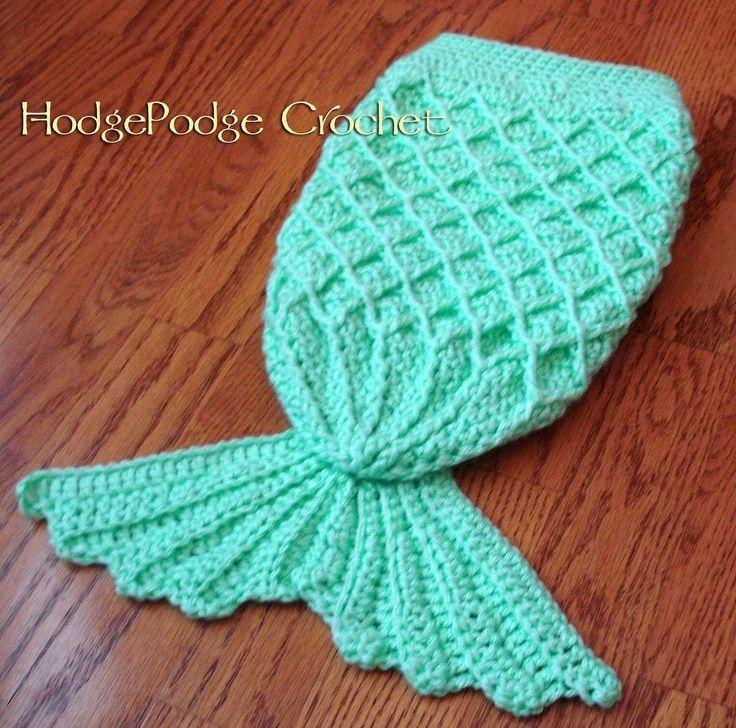 Image result for Mermaid Tail Free Crochet Pattern Craftsy | Mermaid ...