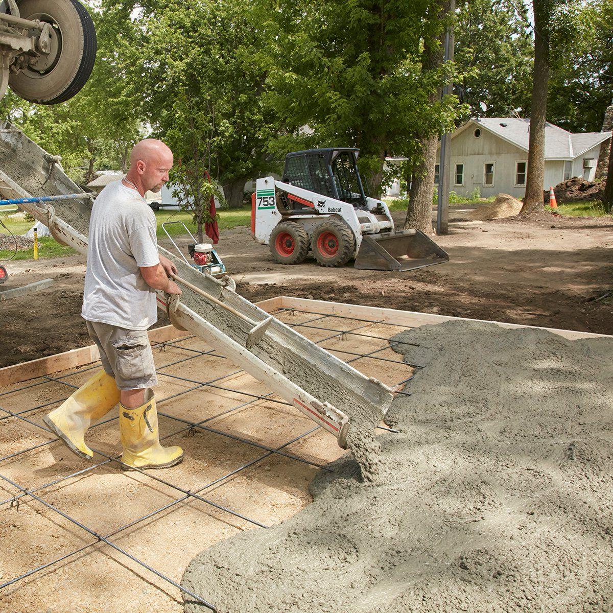 Pour a Perfect Concrete Slab | Concrete | Pouring concrete