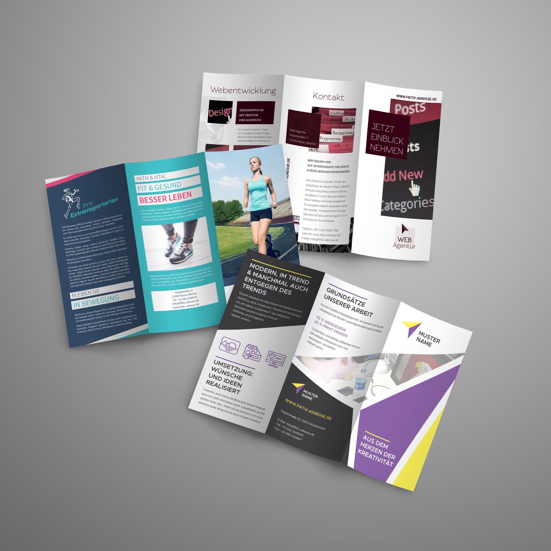 18 Flyer Vorlagen Vielfaltig Im Design Fur Verschiedene Themen Jeweils Sechs Vollstandig Ausgestaltete Seiten Leicht Flyer Vorlagen Fur Flyer Vorlagen