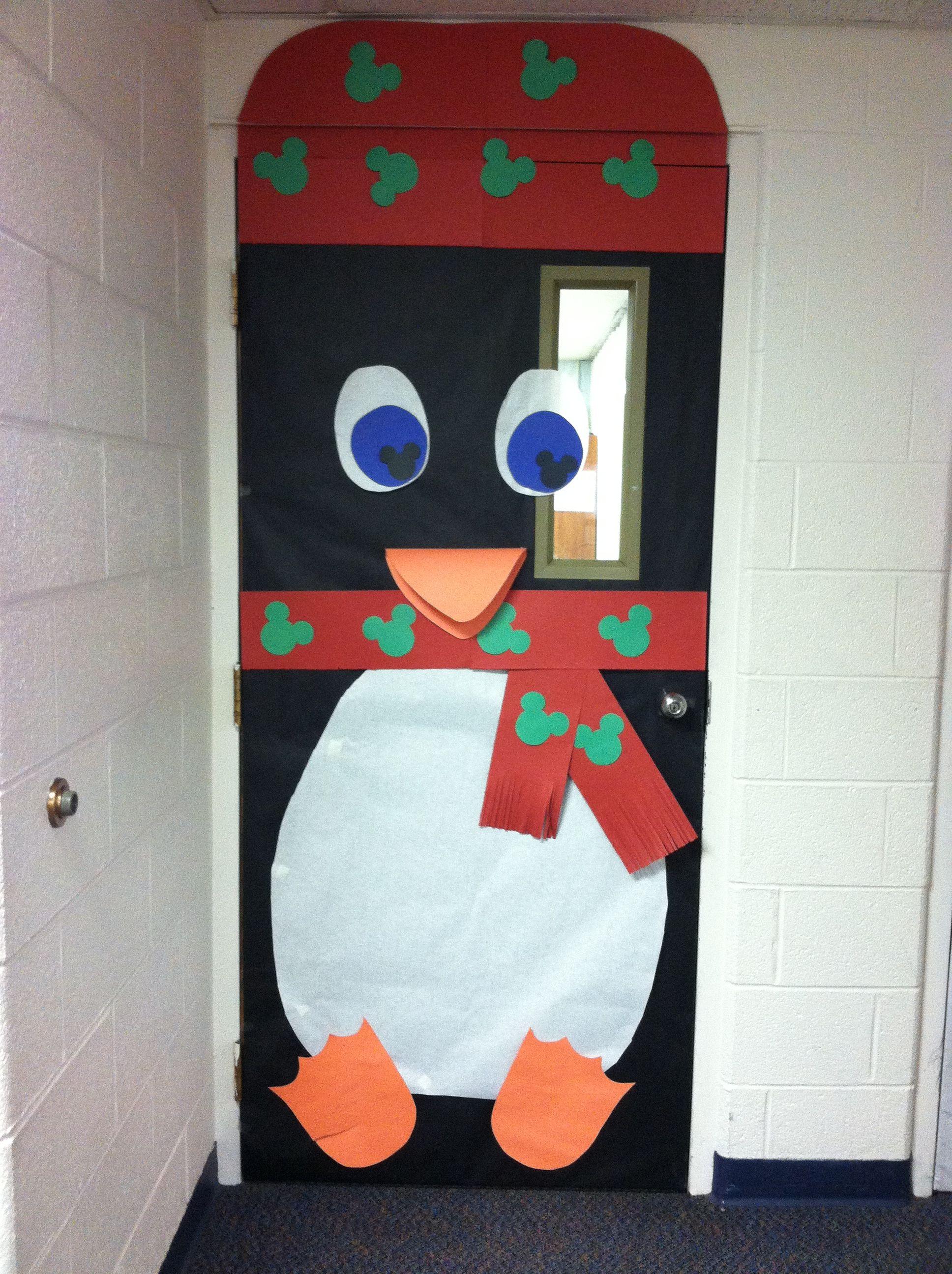 Christmas classroom door decoration by WHCA | Door ...