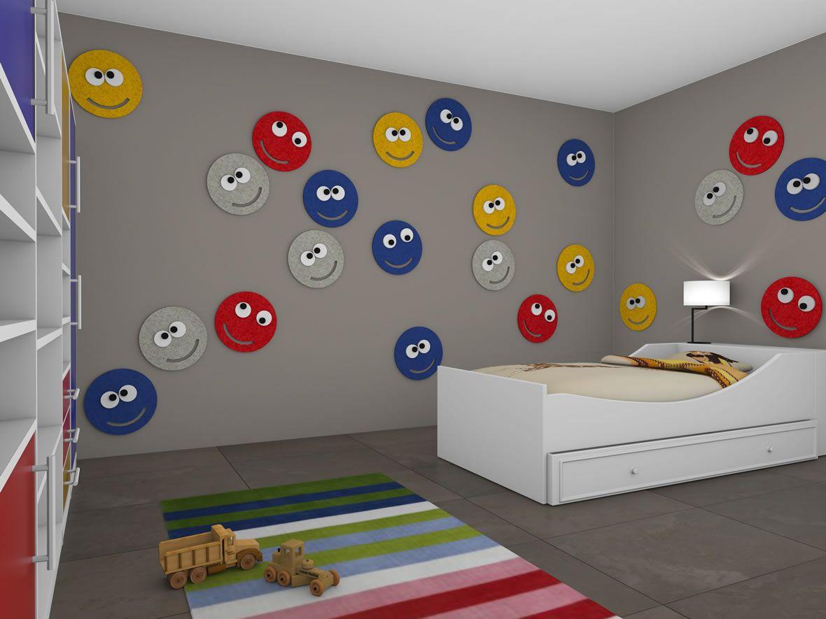 Uberlegen Kreative Wandgestaltung Kinderzimmer