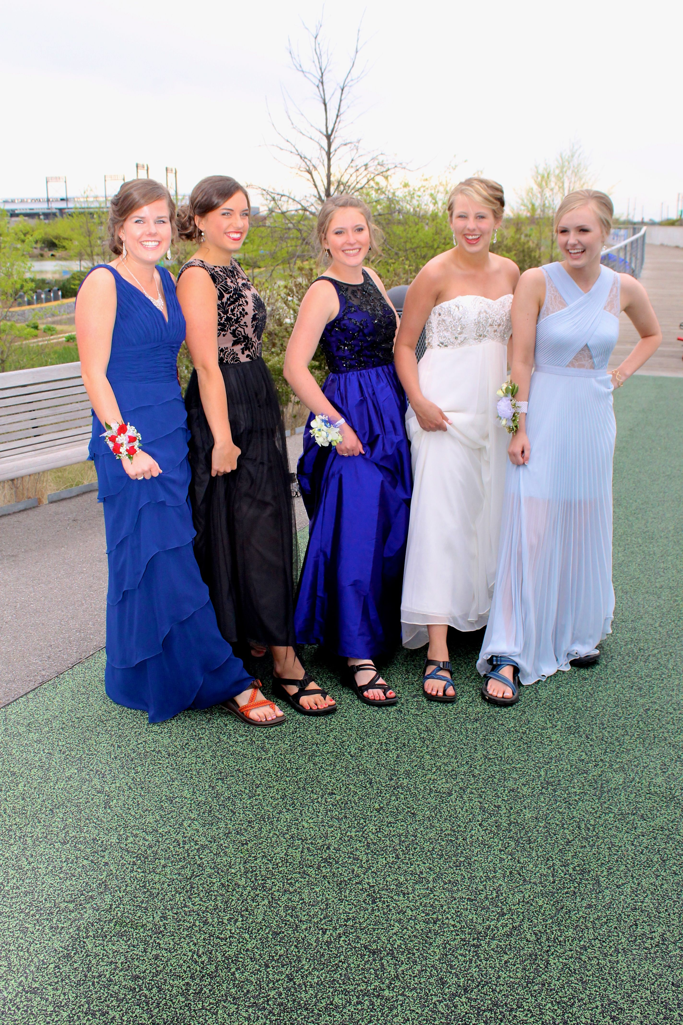 7bfebc26f05 Chacos and prom! what could be better  Love these girls!!!