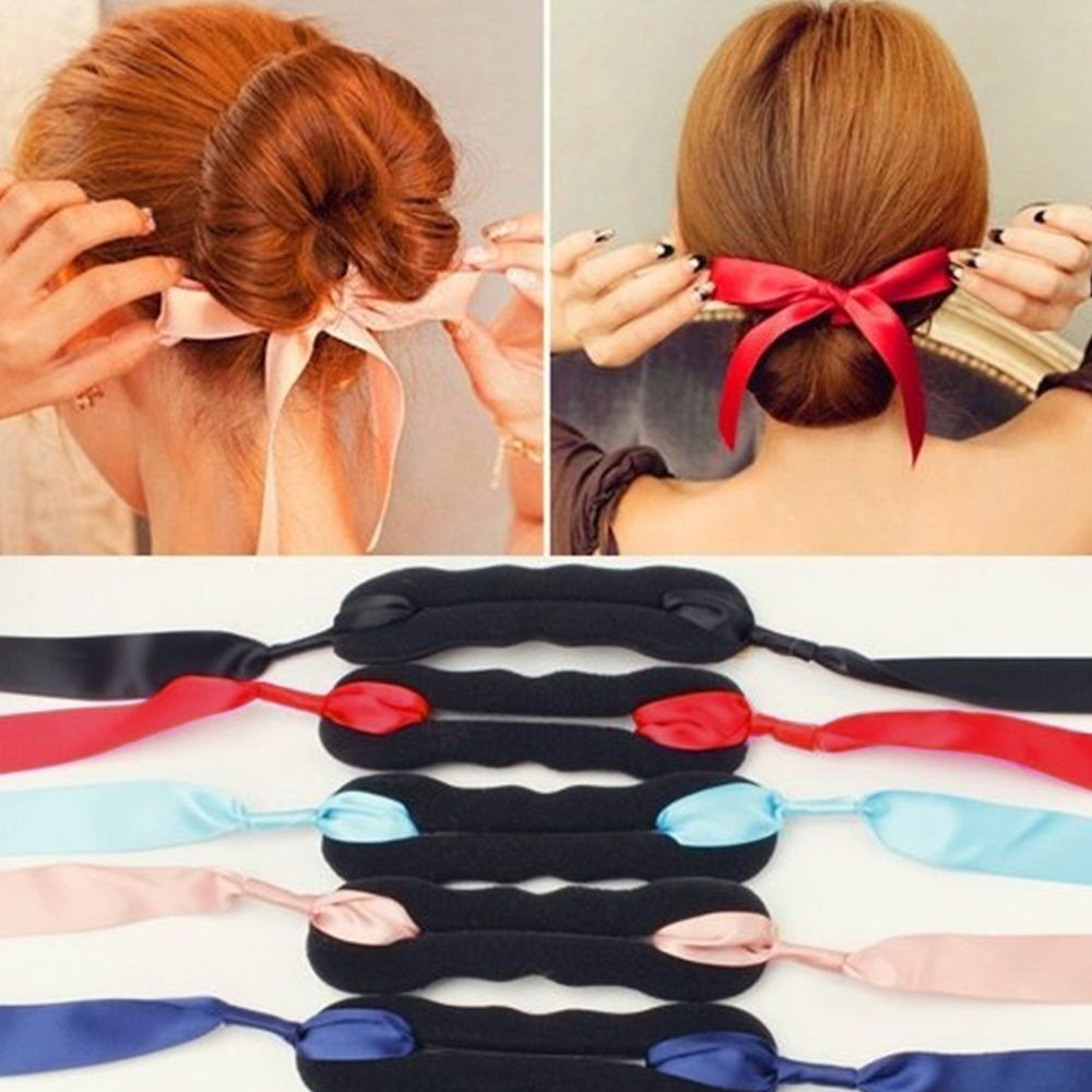 1 Sponge Hairstyling Fashion Magic Hair Styling Tool Make New Hair Styles In Seconds Easy And Convenient To Ca French Twist Hair Long Hair Styles Hair Styles