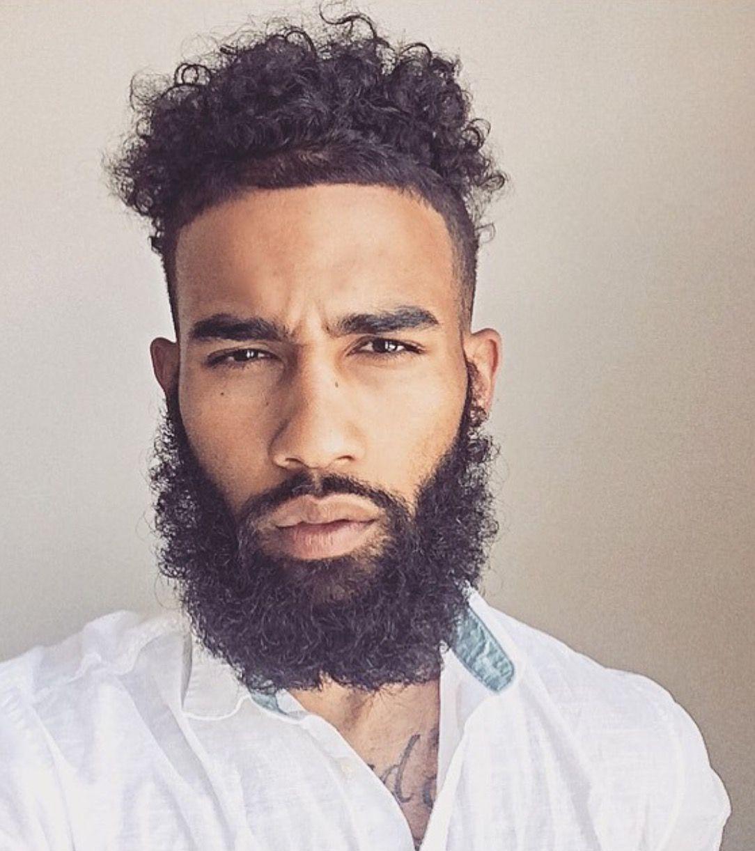 that beard beards pinterest black man beard game and man hair. Black Bedroom Furniture Sets. Home Design Ideas