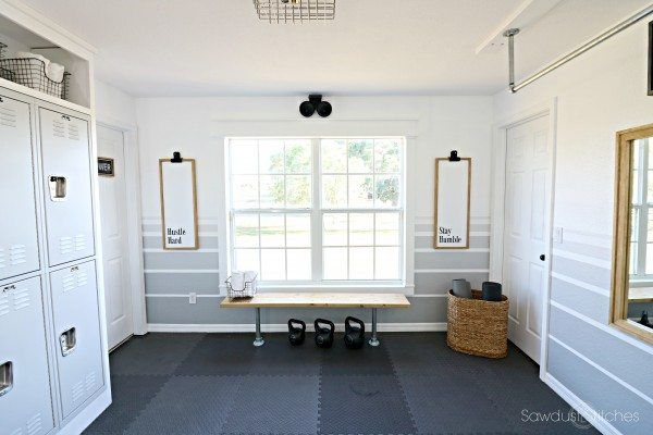 Home gym makeover reveal home gym at home gym