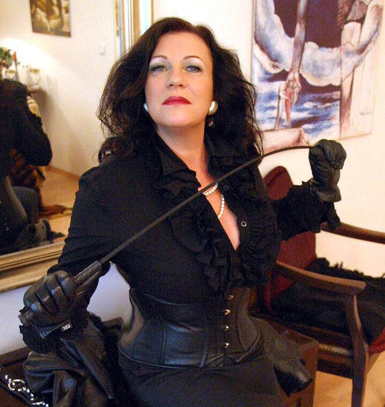 Two strict riding mistresses burn and whip their slave 9