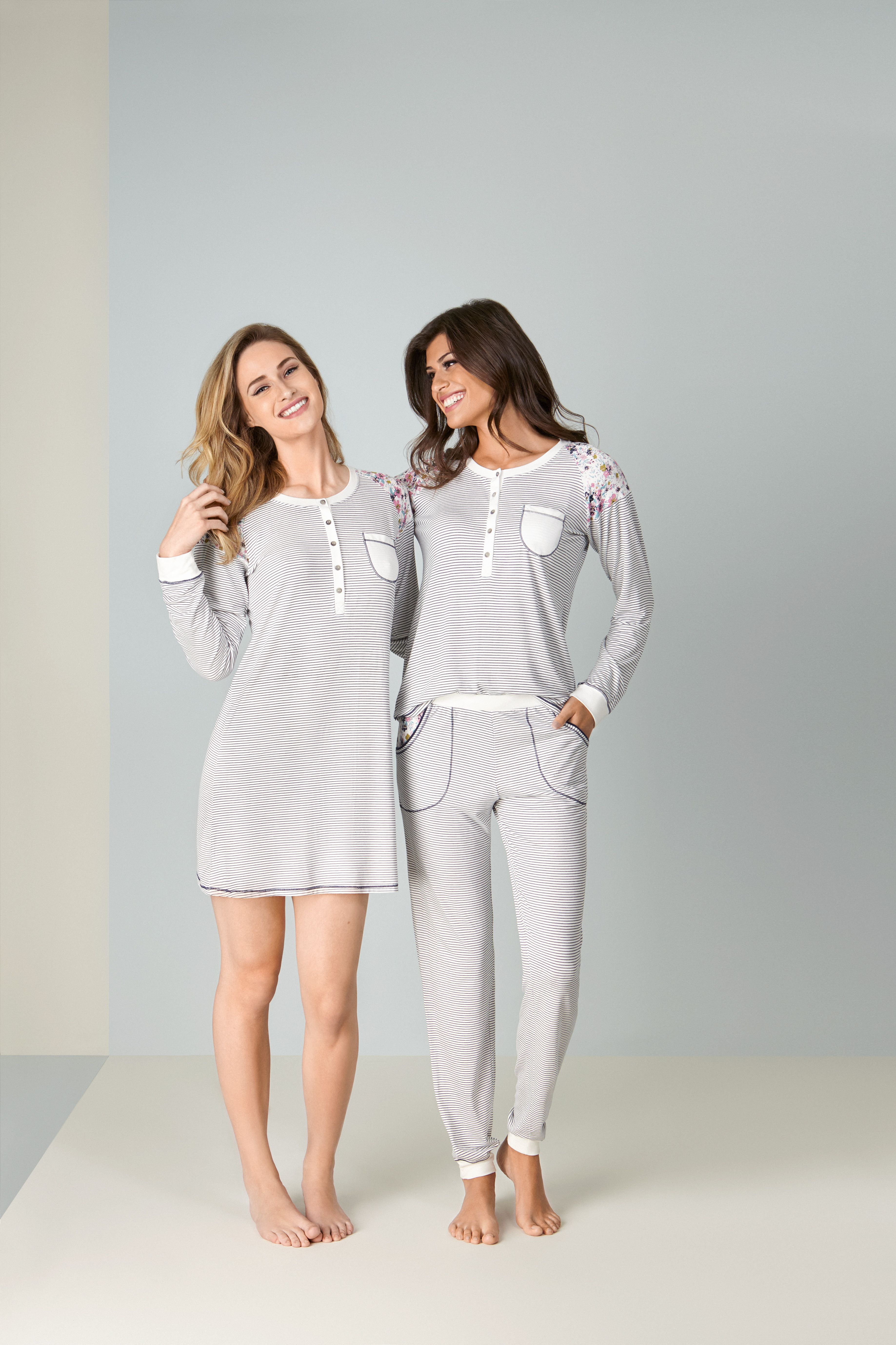7c76326ab5314a Leveza para o Inverno! | Pjays/Sleep Wear em 2019 | Pijama inverno ...