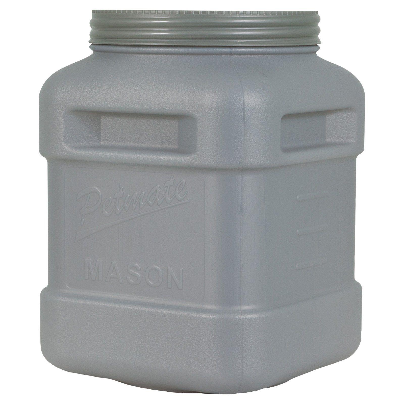 Petmate Mason Jar Food Storage Dog Food Container Pet Food