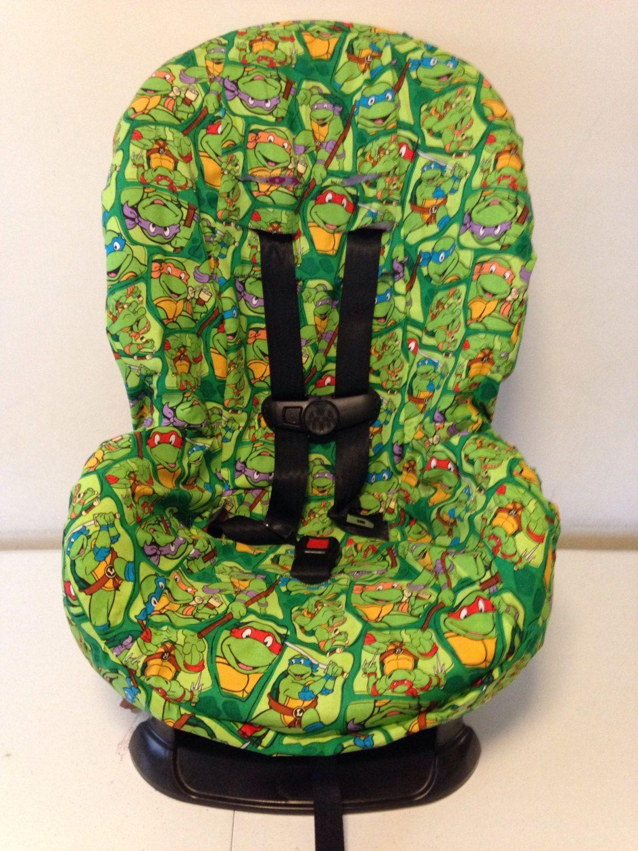 Teenage Mutant Ninja Turtles Fabric Carseat Cover Toddler Free Monogram By LIZSSTITCHESdotCOM On Etsy