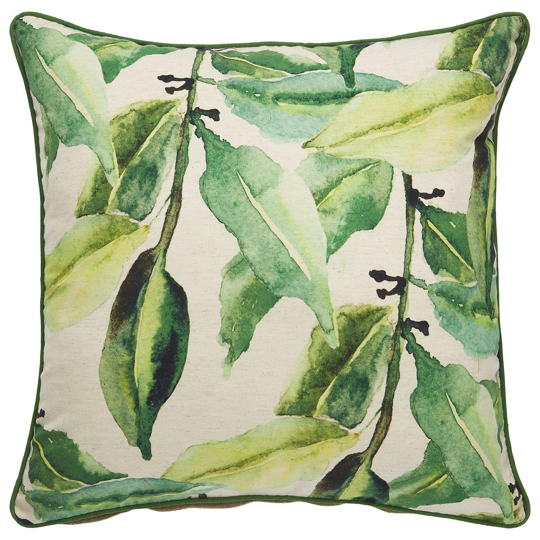 Jaipur Verdigris Birch Mint Green Throw Pillow JAIPLW102807 Zincdoor
