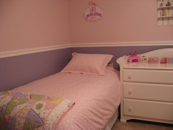 Little Girls Room Pink And Purple Little Girls Shared Bedroom The Polka Dot Bedding