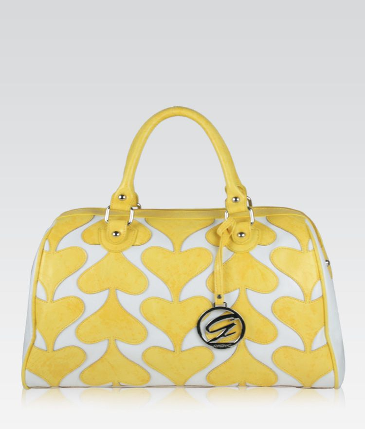 Love Love Tote in Yellow.