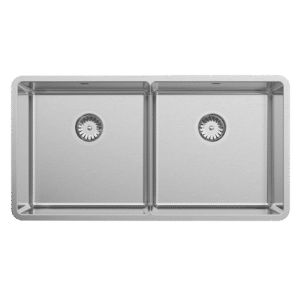 Lua240 Abey Lucia Large Double Bowl Sink Kitchen
