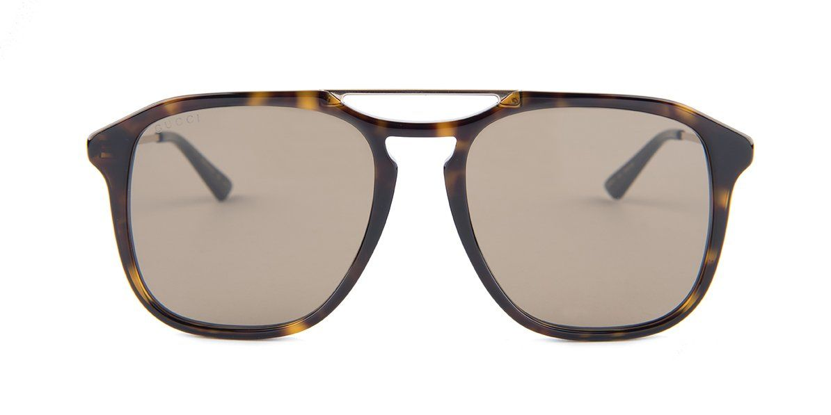 e461399210 Gucci GG0321S Tortoise   Brown Lens Sunglasses – shadesdaddy